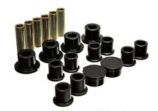 Energy Suspension for 98-11 Ford Ranger Black Rear Leaf Spring Bushing Set - es4