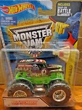 2015 GRAVE DIGGER MONSTER JAM Hot Wheels BATTLE SLAMMER 2015 Hot Wheels #1