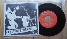 """Teengenerate fuera de la vista 7"""" Garage punk"""