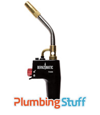 Blow Torch Bernzomatic TS4000T Swirl Flame Brazing Soldering Plumbers Trigger