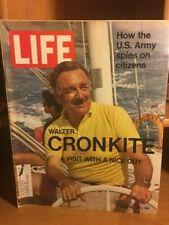 LIFE MAGAZINE- WALTER CRONKITE - MARCH 26, 1971