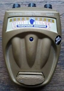 Danelectro Cool Cat Transparent Overdrive Pedal - Battery Powered Only - 2008