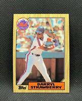 1987 Topps Darryl Strawberry #460 - New York Mets - MINT