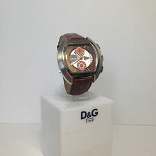 "OROLOGIO CRONOGRAFO  D&G ""WHY NOT TODAY"" DW0213 DOLCE E GABBANA -NUOVO-"