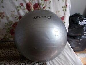 Reebock exercise ball 65cm silver