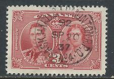 Canada #W-141(1) RPO 1924 3 cent GEORGE VI SASK. HARD. & EDMONTON  R.P.O./ No.