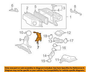 17772-20010 Toyota Bracket, intake air connector, no.2 1777220010, New Genuine O