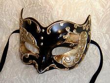 Mens Masquerade Mask ITALIAN Made- OVERNIGHT Metto Aust Venetian Zane Silver