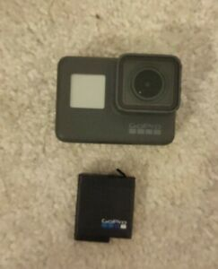 GoPro HERO5 Black 12.0MP Action Camcorder  with spare battery