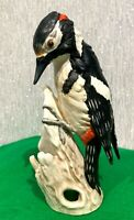 GOEBEL HUMMEL BIRD GREAT SPOTTED WOODPECKER CV 81 MATTE FINISH CHINA PERFECT