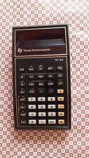 Calculadora antigua coleccionistas. texas instruments  T1-41,  1970