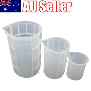 Silicone Measuring Cup with Scale DIY Handmade Non-stick Adjusting Mixing Cups