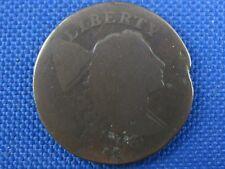 1796 LIBERTY CAP COPPER LARGE CENT COIN
