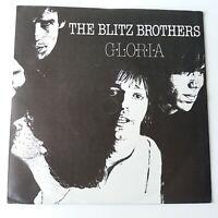 "Blitz Brothers - Gloria - 7"" Vinyl Single 1st Press EX/NM"