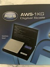 American Weigh 1KG Digital Pocket Small Scale Jeweler Kitchen Cooking or Tea New