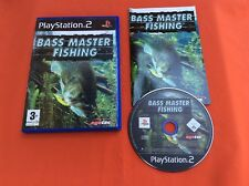 BASS MASTER PESCA AGETEC PS2 PLAYSTATION 2 SONY COMPLETO PAL