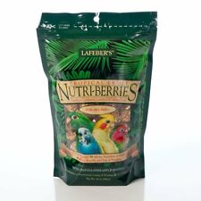 Lafeber Tropical Fruit Nutri-Berries Bird Food 10 oz | Nutritious Foraging Fun