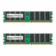 Qumox 2gb 2x1gb DDR DIMM 184 Pin 400mhz Pc3200 CL 3.0 Desktop Memory