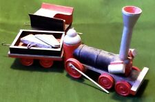 Vintage Lot of Wooden Train Toy Parts (for crafts or repair)
