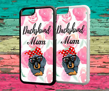 Phone Case Dachshund Sausage Dog Protective Rubber Back Cover Case For Iphone