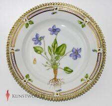 "Kuchenteller Flora Danica ""Viola Hirta L"" 1. Wahl 617 (17 cm)"