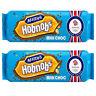 McVitie's Hobnobs Milk Choc Biscuits 431g No Artificial Colour Flavour 2x Packs