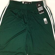adidas Men's Climalite Practice Shorts (Large-Tall, Dark Green)
