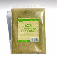 WILD LETTUCE 28 grams wildcrafted Lactuca virosa powder supplement relaxing