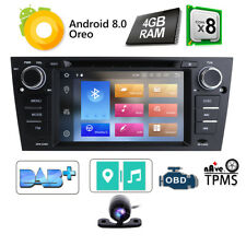 """For BMW 3 Series E90-E93 7"""" Android 8.0 Car DVD GPS Navi Radio Touch Screen WIF"""