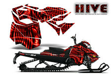 SKI-DOO REV XM SUMMIT SNOWMOBILE SLED CREATORX GRAPHICS KIT WRAP HIVE RED