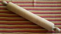 "Vintage ~ Hardwood Rolling Pin ~ 19"" x 2.5"" ~ Rustic/Primitive Country Decor ~ 6"