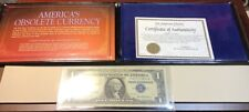 America's Obsolete Currency Collection 1957 Silver Certificate