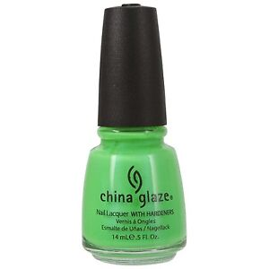 China Glaze In The Lime Light Nail Lacquer 0.5oz
