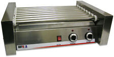 COMMERCIAL BENCHMARK HOT DOG ROLLER GRILL COOKER 20 HOTDOGS - HOT DOG STAND