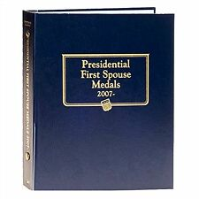 Whitman Classic Coin Album 2477 Presidential First Spouse Medal 2007-DATE