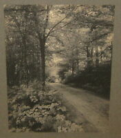 """ANTIQUE 1913 *CLIFTON CHURCH* LISTED """"LIGHT AND SHADE"""" LANDSCAPE ART PHOTOGRAPH"""