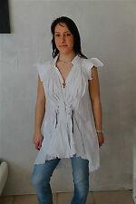 túnica vestido túnica blanca HIGH USE talla 38 NUEVO CON ETIQUETA TOP LUXE