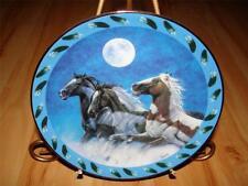 """Thunder Makers"" Spirited Visions Diana Beach Danbury Mint Indian Horse Plate"