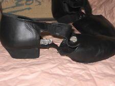 NIB LEO'S UNISEX Women AMORE #7208 BLACK / #7206 TAN LEATHER JAZZ SANDALS SHOES