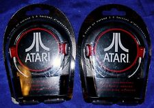 Lot of 4, New NIB, ATARI in Ear Red/White Earbud Ipod Iphone Headphones PG791G