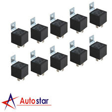 10 Pack JDMSPEED 12V 30/40 Amp 5-Pin SPDT Bosch Style Electrical Relays