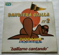VARIOUS LP BANDIERA GIALLA N° 2 33 GIRI VINYL 1984 ITALY CGD COM 20430 EX/NM