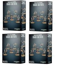 Games Workshop Warhammer 40K Chaos Cultists x4 Boxed Sets 20 Cultists