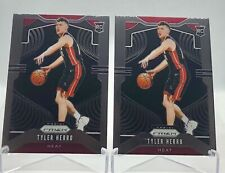 Lot Tyler Herro Rookie RC Prizm #259 + Optic #172 Miami Heat Basketball NBA