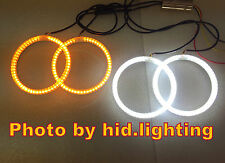 BMW Dual Angel Eye Halo Ring Light LED SMD E46 amber DRL White Coupe Facelift