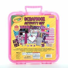NIB Crayola Children Kids Scrapbook Arts Supplies Activity Set, Over 800 pieces