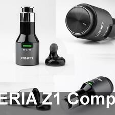 Oreillette Bluetooth sur Chargeur USB Auto 2A pour SONY XPERIA Z1 Compact