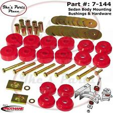 Prothane 7-144 Body Mount Bushings Kit 59-64 Chevrolet Impala/Belair Hardtop