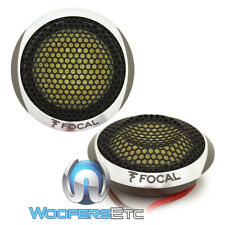 FOCAL TN54K K2 POWER COMPONENT TWEETERS WITH SMALL HOUSINGS PAIR CAR AUDIO NEW