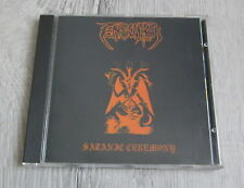 ENOCHIAN / ISACAARUM - Satanic Ceremony /For Blood Is  CD 1998 Leviathan  MINT